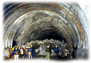 Under ground structure Giant Tunnel Under Construction The Underground Structures Structure Repairing Services In Delhiroof Waterproofing Services In Underground Structures